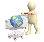 Acquisto globale Immagini Stock Libere da Diritti