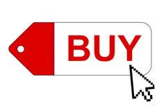 Acquisto in linea Immagine Stock