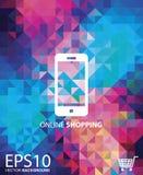 Acquisto online mobile Fotografia Stock