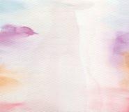 Acrílico abstracto y fondo pintado acuarela Imagen de archivo