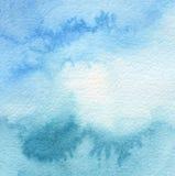 Acrílico abstrato e fundo pintado aquarela foto de stock