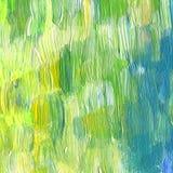 Acrílico textured sumário e fundo pintado à mão da aquarela Fotos de Stock