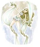 Acróbata aéreo libre illustration