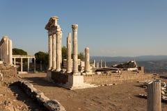 Acrópole de Pergamon - Izmir TURQUIA Fotografia de Stock