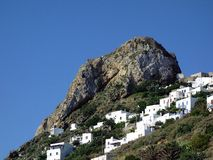 Acrópole, ilha do grego de Skyros Imagem de Stock Royalty Free
