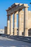 Acrópolis Foto de archivo libre de regalías