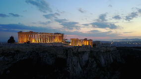 Acrópolis Fotografía de archivo