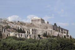 Acrópolis Atenas. imagenes de archivo