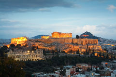 Acrópolis, Atenas Foto de archivo libre de regalías