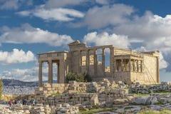 Acrópolis con el Parthenon, Atenas - Grecia imagen de archivo