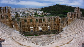Acrópolis de Atena Grecia Fotos de archivo libres de regalías