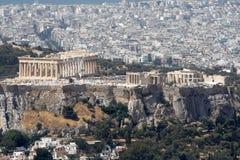 Acrópolis de Atenas Fotografía de archivo
