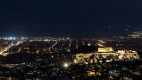 Acrópolis de Atenas almacen de video