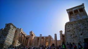 Acrópolis de Atenas Foto de archivo