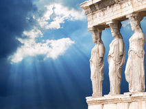Acrópolis de Atenas fotografía de archivo libre de regalías
