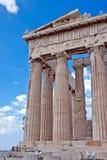 Acrópolis de Atheens Imagen de archivo libre de regalías