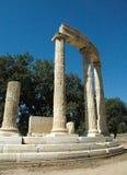 Acrópolis de la Olympia Foto de archivo libre de regalías
