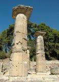 Acrópolis de la Olympia Imágenes de archivo libres de regalías