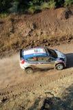 Acrópolis de la reunión de 2011 WRC fotografía de archivo