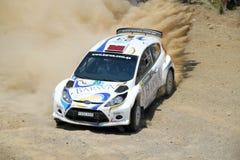 Acrópolis de la reunión de 2011 WRC - fiesta de Ford Foto de archivo