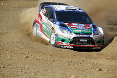 Acrópolis de la reunión de 2011 WRC - fiesta de Ford Fotos de archivo