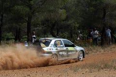Acrópolis de la reunión de WRC Fotos de archivo libres de regalías