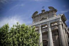 Acrópolis de Roma fotografía de archivo