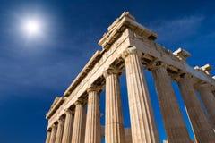 Acrópolis en Atenas imagen de archivo libre de regalías