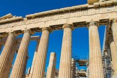 Acrópolis famosa de Atenas Imágenes de archivo libres de regalías