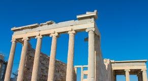 Acrópolis famosa de Atenas Imagen de archivo libre de regalías