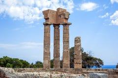 Acrópolis Rodas Imágenes de archivo libres de regalías