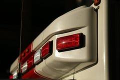 Acr машины скорой помощи фар закрывают вверх Стоковые Фотографии RF