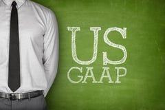Acrônimo GAAP do negócio - aceitado geralmente Imagem de Stock