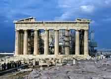 Acr?pole ateniense, Gr?cia fotos de stock royalty free