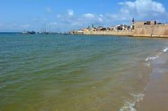 Acre Akko old city port - Israel Royalty Free Stock Photos