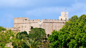 Acre Akko old city port - Israel Royalty Free Stock Photography