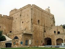 Acre castle, Acre, Israel, Middle East Royalty Free Stock Photography