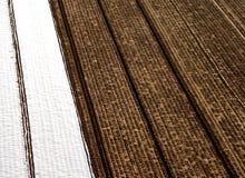 Acre de la agricultura de arriba Foto de archivo libre de regalías