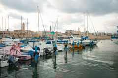 Acre Fishing Harbor Royalty Free Stock Images