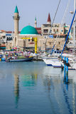 Acre Fishing Harbor Royalty Free Stock Photo