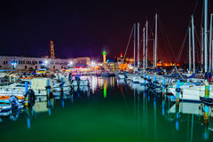 Acre Fishing Harbor Royalty Free Stock Photos