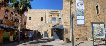 ACRE, ISRAEL - CIRCA SEP 2016: Inside of an Old city Acre Akko Stock Photo