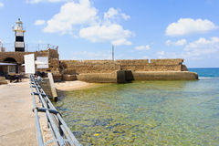 Acre Lighthouse Stock Images