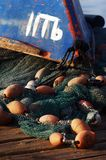 Acre Port Israel. Fishing boat at the Acre fishing port, Israel Royalty Free Stock Image