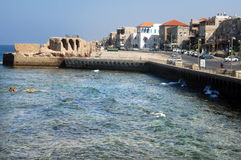 Acre port Israel Royalty Free Stock Photo