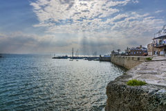 Acre south city walls Royalty Free Stock Photos