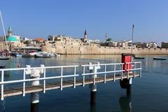 Acre - una ciudad en las orillas del mar Mediterráneo Imágenes de archivo libres de regalías