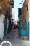 Acre - una ciudad en las orillas del mar Mediterráneo Fotografía de archivo