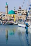 Acre Visserijhaven Royalty-vrije Stock Foto