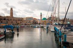 Acre Visserijhaven royalty-vrije stock afbeelding